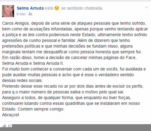 post Selma Arruda