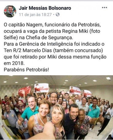 Bolsonaro pol�ticos MT post