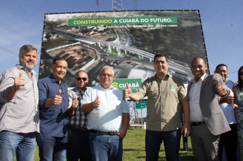 Lan�amento Viaduto Juca do Guaran�