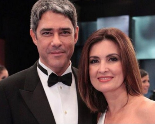 Willian Bonner e Fatima Bernardes