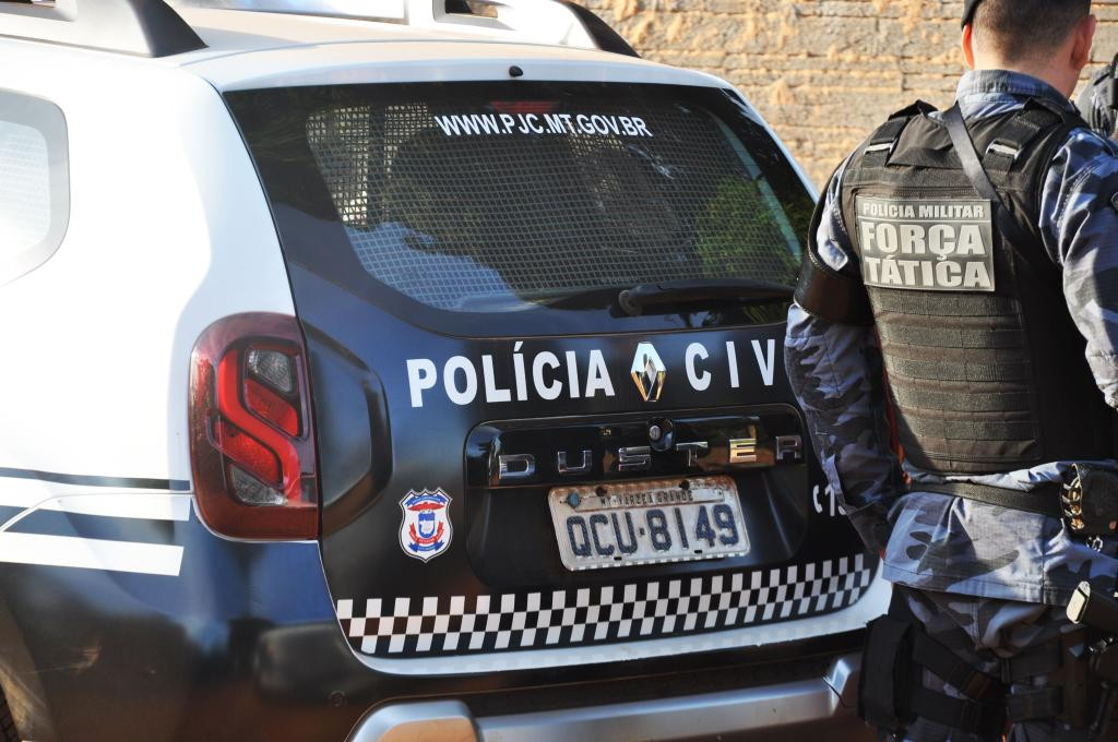Carro Pol�cia Civil