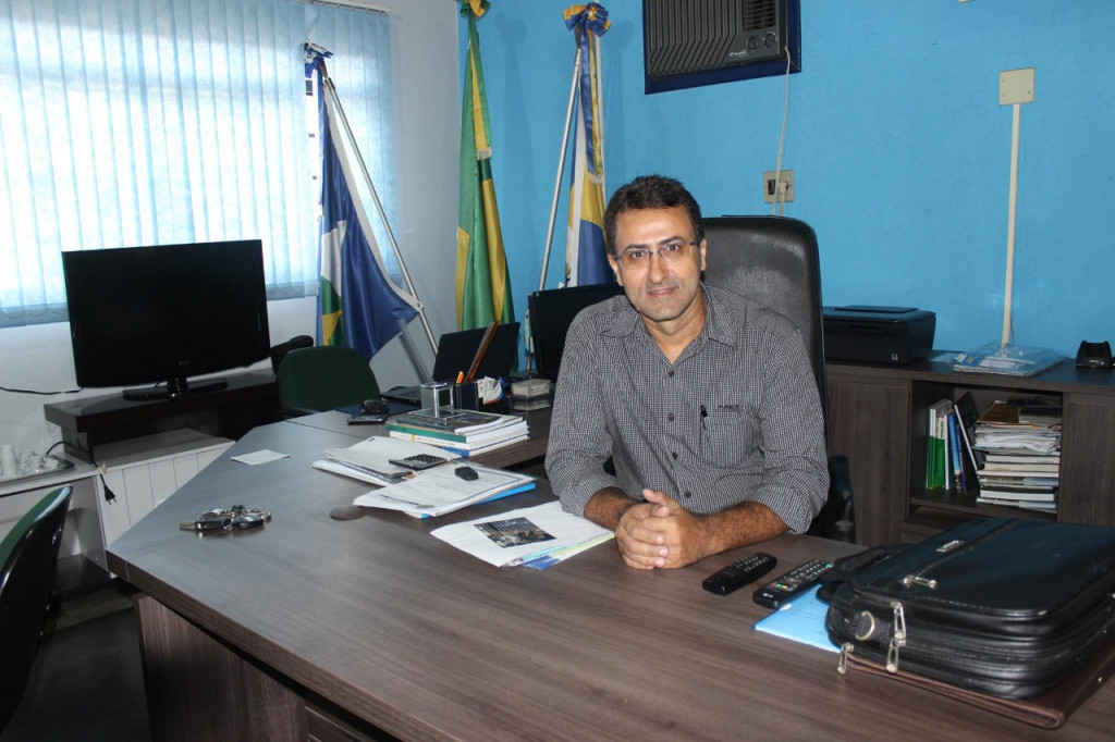 Prefeito de Novo Horizonte do Norte, Silvano Pereira Neves