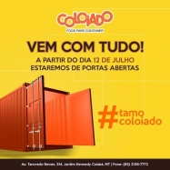 Inauguração do Coloiado Food Park Container