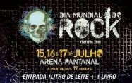 Na Arena, segue 4º Festival do Rock